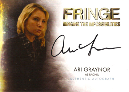 2012 Cryptozoic Fringe Seasons 1 and 2 Autographs Include Meghan Markle 11