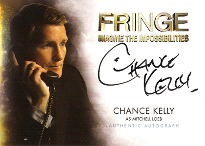 2012 Cryptozoic Fringe Seasons 1 and 2 Autographs Include Meghan Markle 13