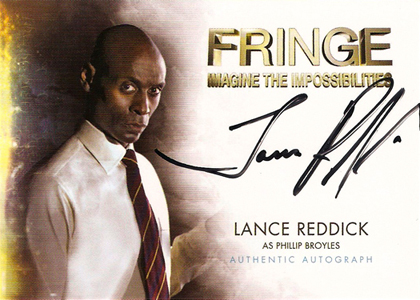 2012 Cryptozoic Fringe Seasons 1 and 2 Autographs Include Meghan Markle 3