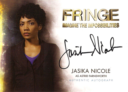 2012 Cryptozoic Fringe Seasons 1 and 2 Autographs Include Meghan Markle 5
