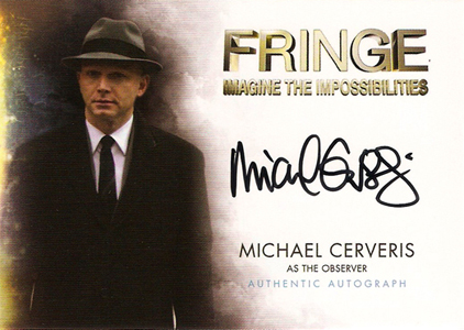 2012 Cryptozoic Fringe Seasons 1 and 2 Autographs Include Meghan Markle 9