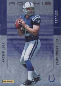 2012 Panini Father's Day Rookies Andrew Luck #/499