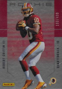 2012 Panini Father's Day Rookies Robert Griffin III /499