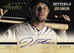 2012 Panini Signature Series Hitters Ink Josh Hamilton