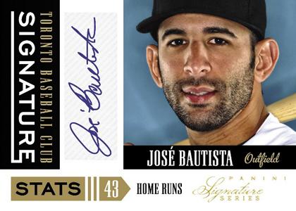 2012 Panini Signature Series Baseball Cards 8