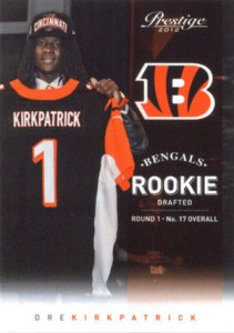 2012 Prestige Football Rookie Variations Guide 2