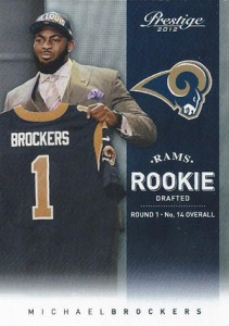 2012 Prestige Football Rookie Variations Guide 4