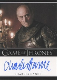 2012 Rittenhouse Archives Game of Thrones Autographs Charles Dance