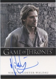 2012 Rittenhouse Archives Game of Thrones Autographs Nikolaj Coster-Waldau