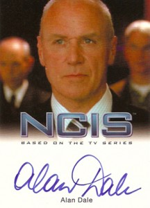 2012 Rittenhouse NCIS Autographs Alan Dale as Tom Morrow
