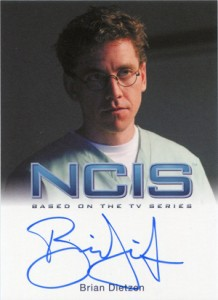 2012 Rittenhouse NCIS Autographs Brian Dietzen as Jimmy Palmer
