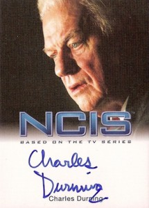 2012 Rittenhouse NCIS Autographs Charles Durning as Ernie Yost