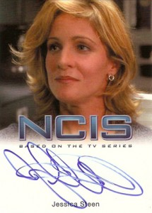 2012 Rittenhouse NCIS Autographs Jessica Steen as Paula Cassidy