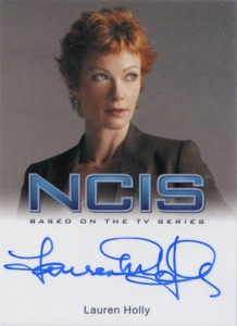 2012 Rittenhouse NCIS Autographs Lauren Holly as Jenny Shepard