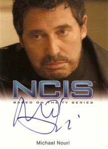 2012 Rittenhouse NCIS Autographs Michael Nouri as Eli David