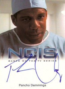 2012 Rittenhouse NCIS Autographs Pancho Demmings as Gerald Jackson