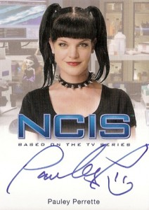 2012 Rittenhouse NCIS Autographs Pauley Perrette as Abby Sciuto