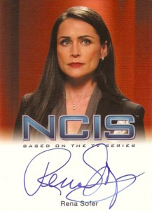 2012 Rittenhouse NCIS Autographs Rena Sofer as Margaret Allison Hart