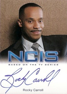 2012 Rittenhouse NCIS Autographs Rocky Carroll as Leon Vance