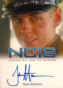 2012 Rittenhouse NCIS Autographs Sean Harmon as Young Leroy Jethro Gibbs