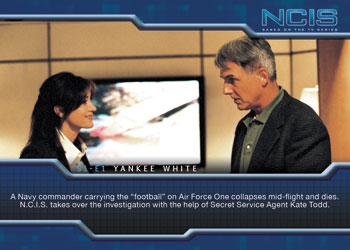 2012 Rittenhouse NCIS Premiere Edition Base Card Image