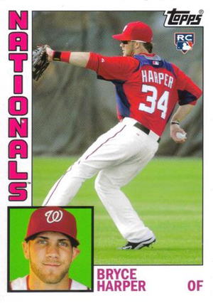 Top Bryce Harper Rookie Cards and Prospect Cards 8