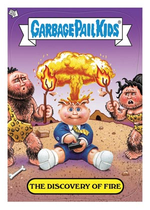 2012 Topps Garbage Pail Kids Brand-New Series Trading Cards 25