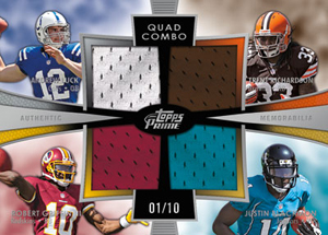 2012 Topps Prime Football Cards 5