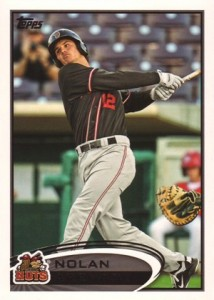 2012 Topps Pro Debut Baseball Variation Short Prints 205 Nolan Arenado Variation