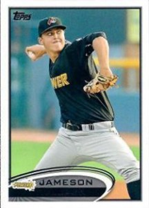 2012 Topps Pro Debut Baseball Variation Short Prints 220 Jameson Taillon Variation