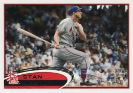 2012 Topps Series 2 Baseball Short Prints 273 Stan Musial Variation