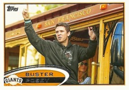 2012 Topps Series 2 Baseball Short Prints 398 Buster Posey Variation