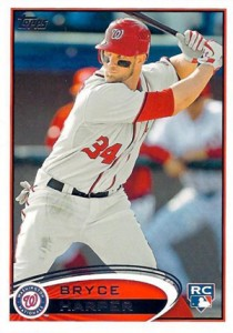 2012 Topps Series 2 Baseball Short Prints 661 Bryce Harper