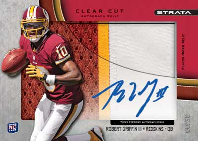 2012 Topps Strata Football Cards 4