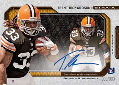 2012 Topps Strata Football Cards 8