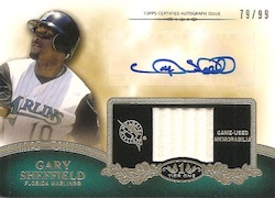 2012 Topps Tier One Baseball Cards 13