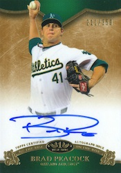 2012 Topps Tier One Baseball Cards 2