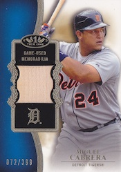 2012 Topps Tier One Baseball Cards 11