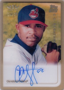 Thinking Clearly with 2012 Topps Tier One Baseball Clear Rookie Reprint Autographs 3
