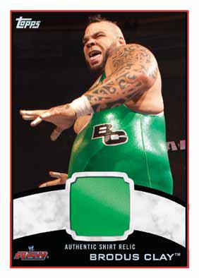 2012 Topps WWE Wrestling Cards 14
