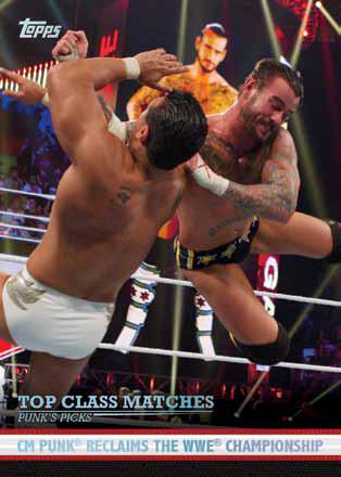 2012 Topps WWE Wrestling Cards 17