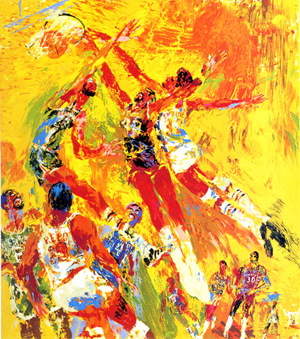 15 Amazing LeRoy Neiman Sports Paintings 3