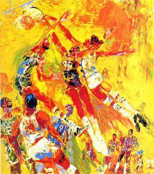 15 Amazing LeRoy Neima... Colorful Lion Paintings
