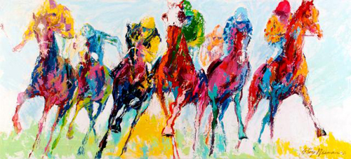15 Amazing LeRoy Neiman Sports Paintings 2