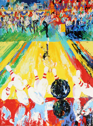15 Amazing LeRoy Neiman Sports Paintings 4