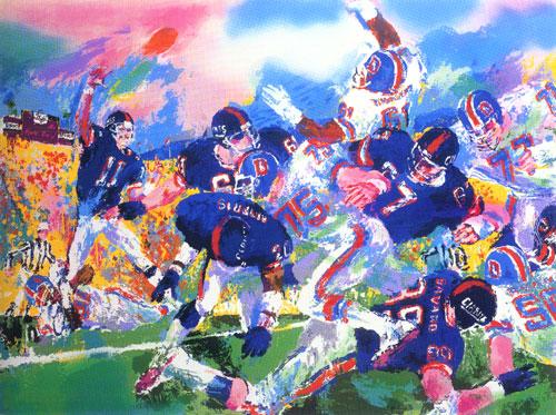 15 Amazing LeRoy Neiman Sports Paintings 5