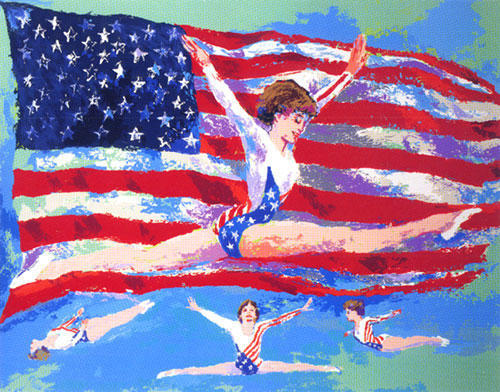 15 Amazing LeRoy Neiman Sports Paintings 6