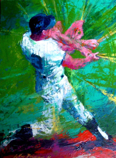 15 Amazing LeRoy Neiman Sports Paintings 7