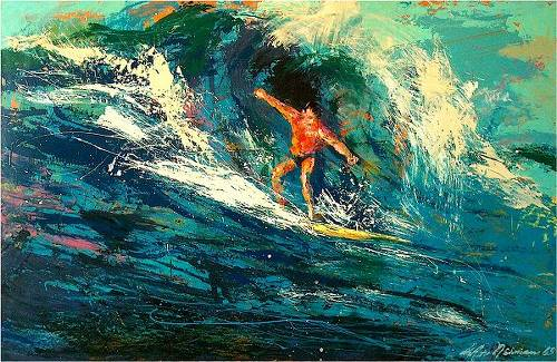 15 Amazing LeRoy Neiman Sports Paintings 8