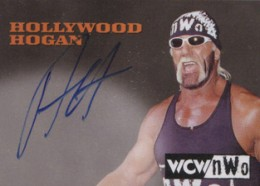 Hulk Hogan Cards - 1998 Topps WCW/NWO Autographs Hollywood Hulk Hogan